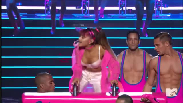 Watch Ariana Grande VMAS 2016 GIF on Gfycat. Discover more arianagrande, vmas, vmas2016 GIFs on Gfycat