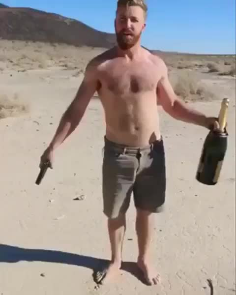 Watch and share Champagne GIFs and Gun GIFs by GB on Gfycat