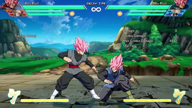 Watch and share DBFZ Block String Ender OS Special Cancel On Block 2 GIFs on Gfycat