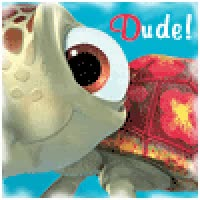 Watch and share Finding Nemo: Fin Noggin Dude, Surfer Girl Photo: Squirt Dude!-finding Nemo A9.gif GIFs on Gfycat
