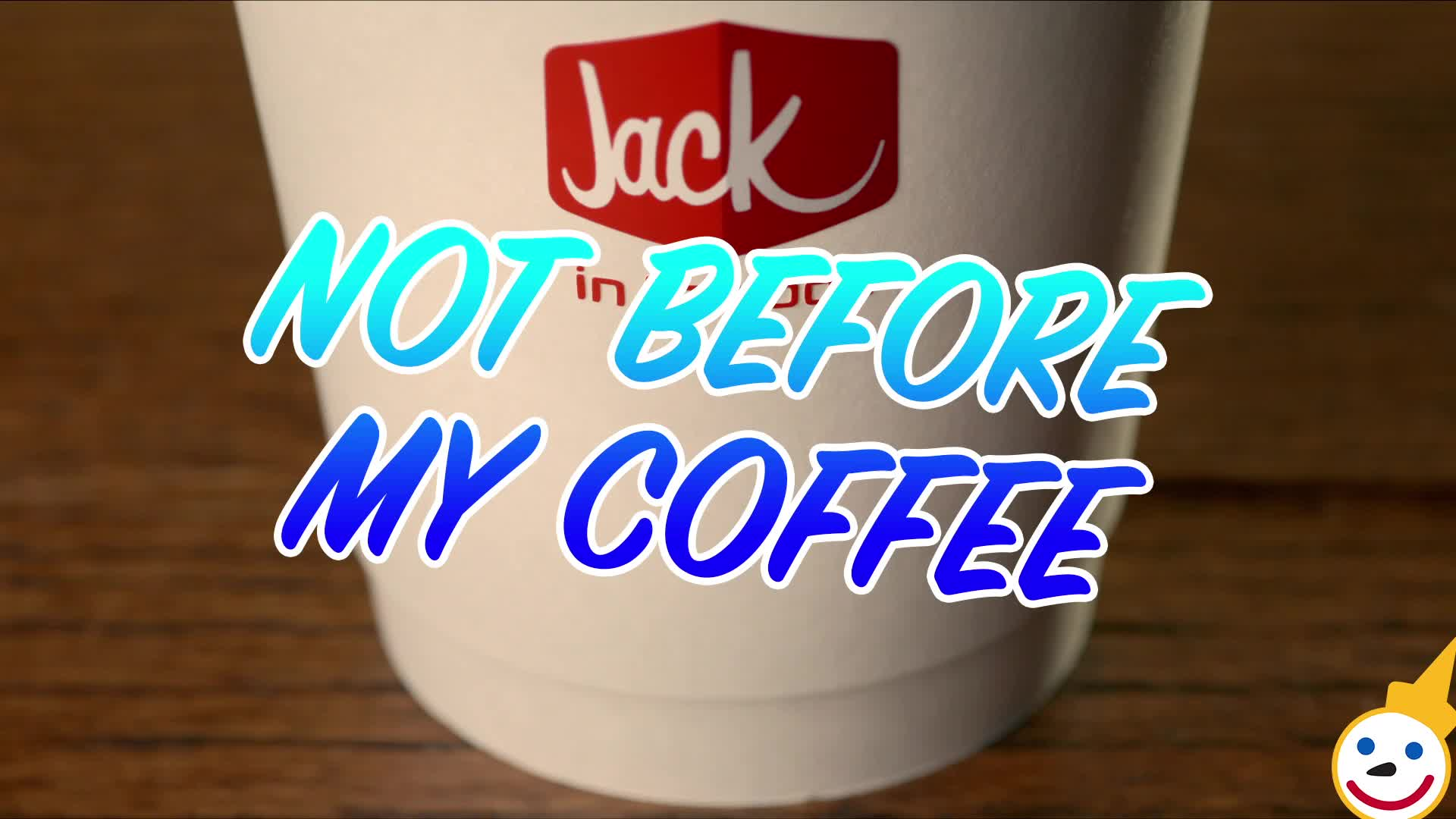 coffee, do not disturb, jack in the box, morning, not before my coffee, not ready, silence, stop, tired, Not Before My Morning Coffee Hungry GIFs