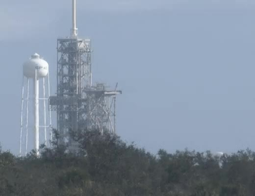 Watch and share Falcon Heavy Being Erected GIFs on Gfycat
