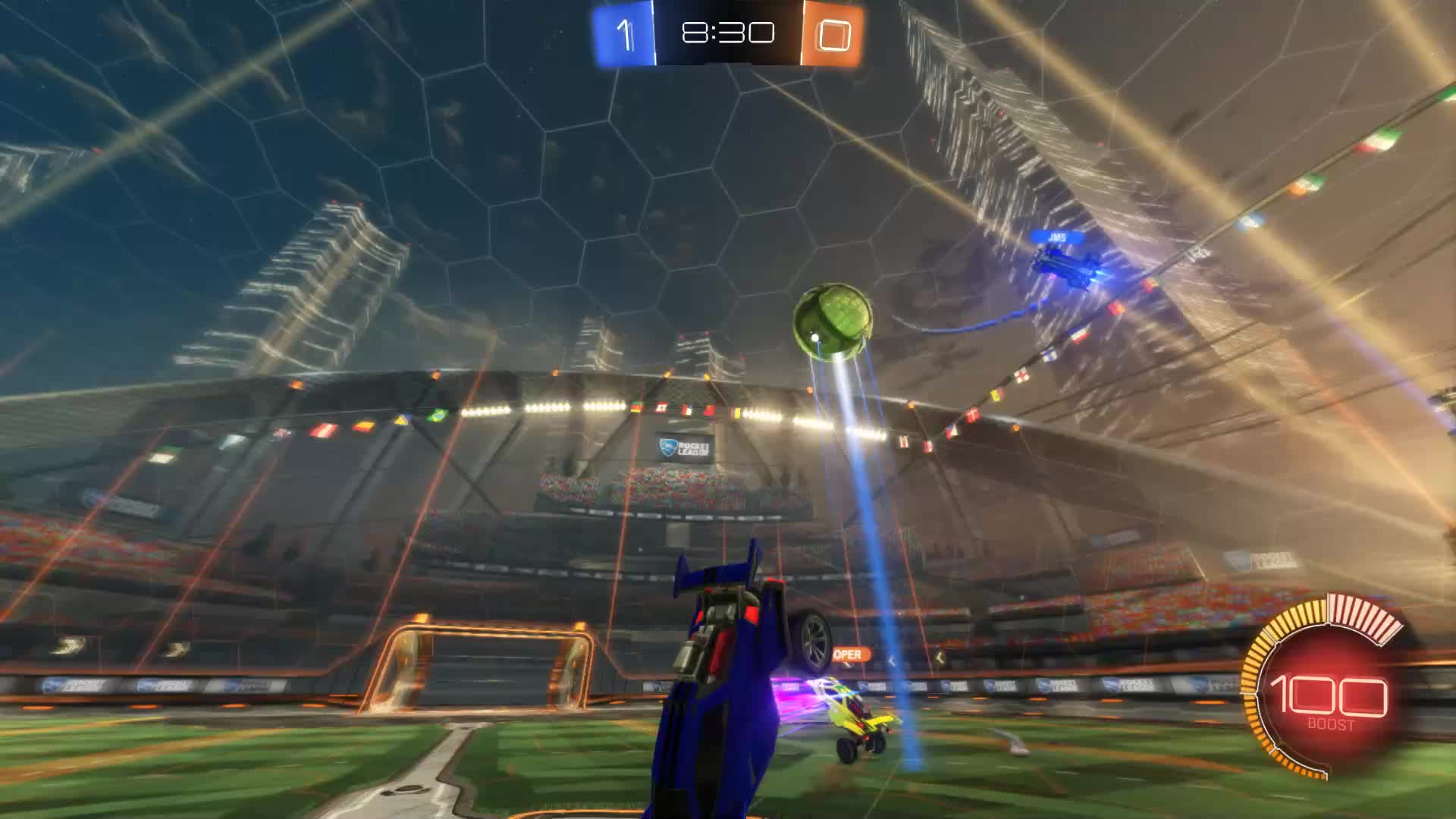 Gif Your Game, GifYourGame, Rocket League, RocketLeague, VEX Slix, Goal 2: VEX Slix GIFs