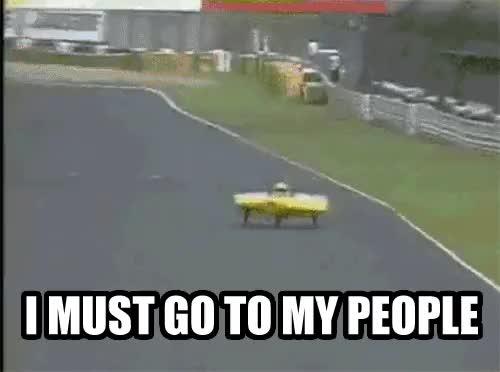 Watch Solar Car Flies Off Track (reddit) GIF on Gfycat. Discover more mypeopleneedme GIFs on Gfycat