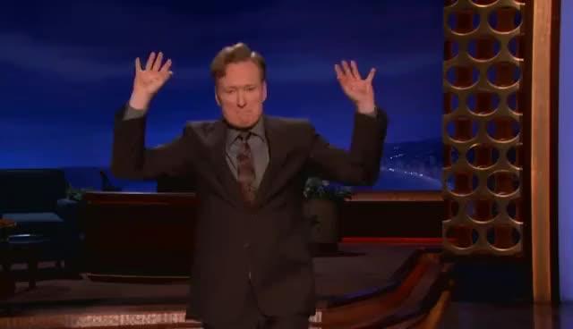Watch Conan GIF on Gfycat. Discover more Conan O' Brian Team Coco GIFs on Gfycat
