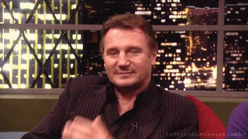 Watch and share Liam Neeson GIFs and Fingerguns GIFs by Reactions on Gfycat