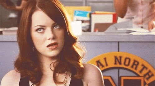 Emma Stone, Sligh GIFs