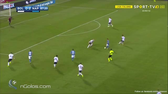 Watch and share Bologna 0-3 Napoli - Zielinski 88' GIFs by minieri on Gfycat