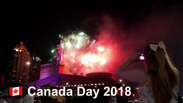 Watch Canada Day Fireworks @ Celebration Square, Mississauga GIF on Gfycat. Discover more 4k, fireworks, highres GIFs on Gfycat