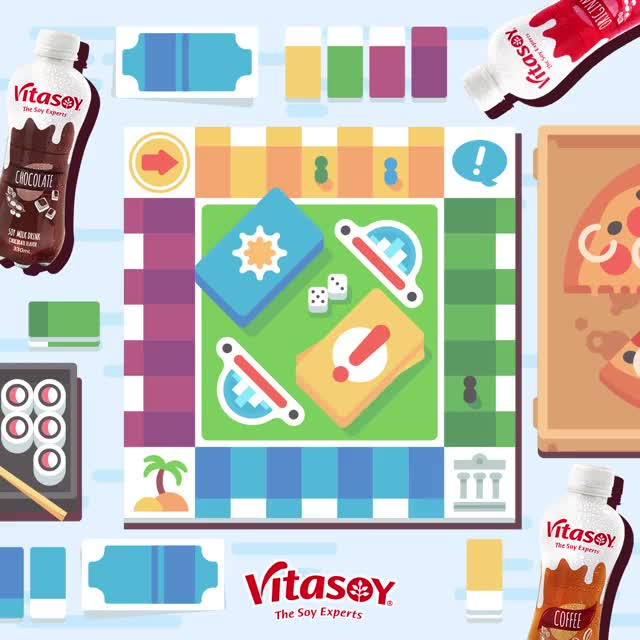 Watch and share Real Good Vitasoy GIFs and Board Game GIFs by VitasoyPH on Gfycat