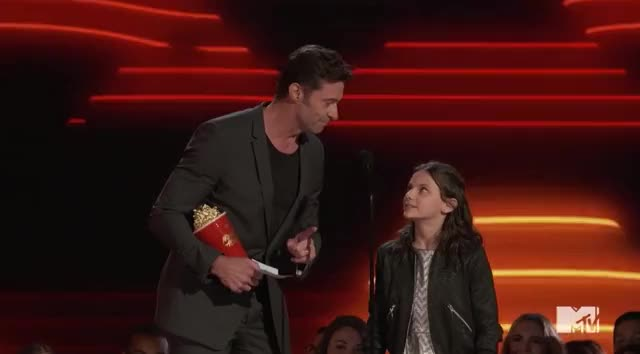 Watch and share Mtv Awards 2017 GIFs and Hugh Jackman GIFs by Reactions on Gfycat