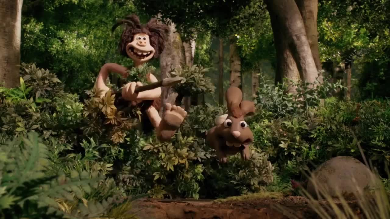 early man, early man (2018 movie), early man movie, eddie redmayne, lionsgate, maisie williams, tom hiddleston, Chasing rabbits GIFs
