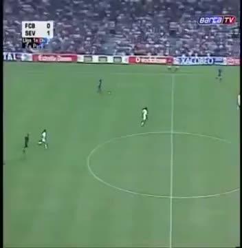 Watch and share Ronaldinho Vs Sevilla GIFs by legestejuste on Gfycat