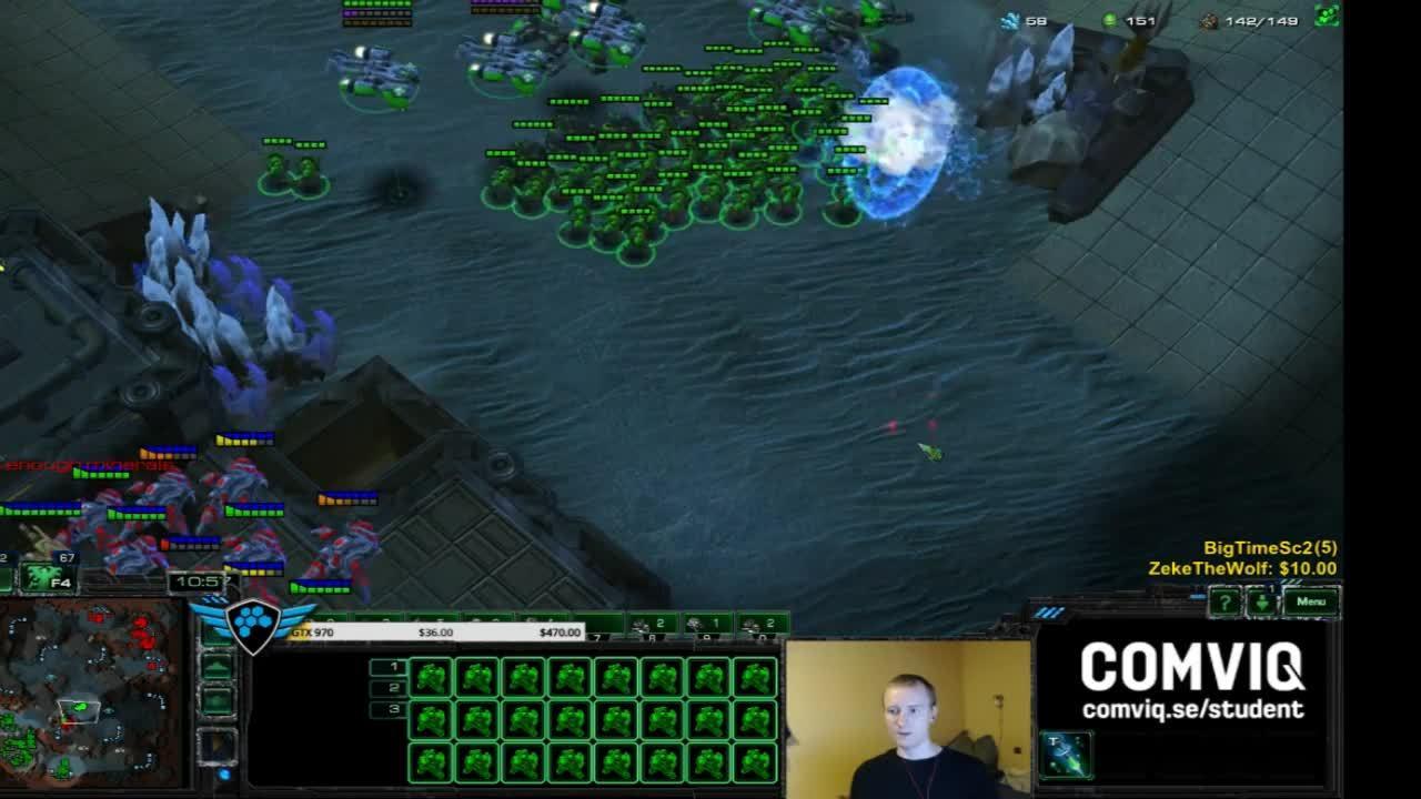 GosuMicro, morrow, starcraft, Morrow vs Disruptor (reddit) GIFs