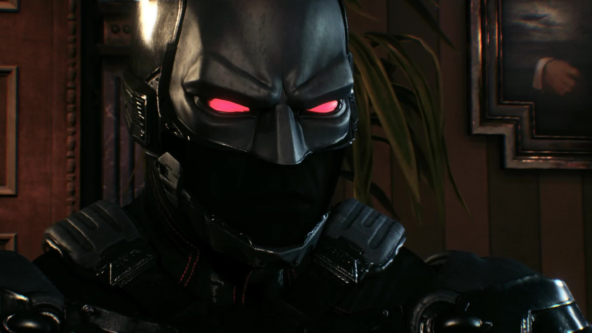 BatmanArkham, Glitch, Knight, Bruce's Eyes GIFs