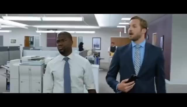 Watch Central Intelligence (2016) - Present Day At Work GIF on Gfycat. Discover more related GIFs on Gfycat