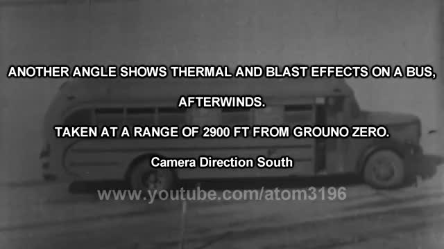 Watch HD nuclear test at School Buses to protect children in Nuclear War 1953 スクールバスへの核実験 GIF on Gfycat. Discover more 1946, Cloud, DOOMSDAY, Mushroom, Scary, Underground, atomic, blast, bomb, crossroads, dominic, fireball, hd, hydrogen, nuclear, operation, shock, test, trinity, wave GIFs on Gfycat