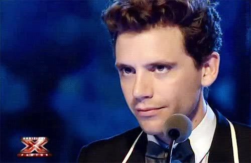 "Watch and share Formikashug: ""Mika - X Factor Italia Auditions (Bologna) "" GIFs on Gfycat"