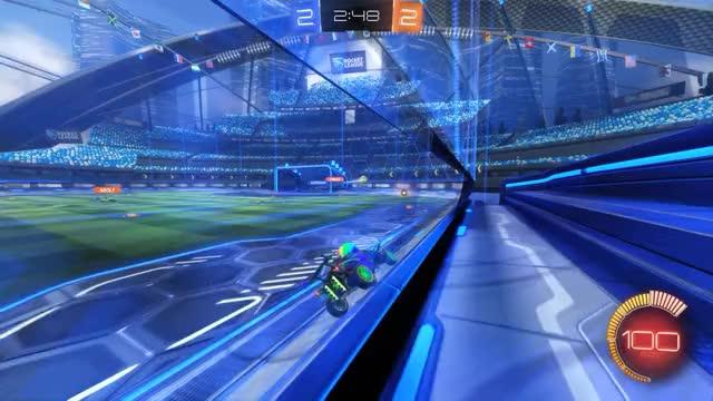 Watch Goal 5: Adolf GIF by Gif Your Game (@gifyourgame) on Gfycat. Discover more Bad Panda, BadPanda, Rocket League, RocketLeague GIFs on Gfycat