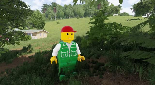 Arma 3 Lego mod puts plastic people into hardcore military