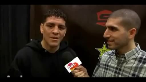 Watch and share Nick Diaz OWNS Ariel Helwani, Talks Unified Rules GIFs on Gfycat
