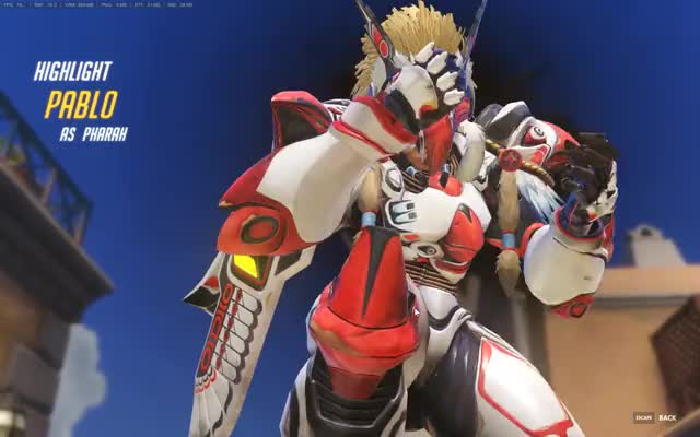 Watch and share Overwatch 01 01 2017   01 01 20 01 GIFs on Gfycat