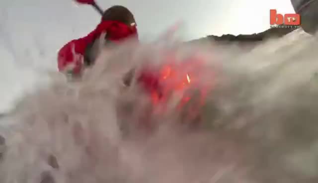 kayak, lava, Lava Kayaking GIFs