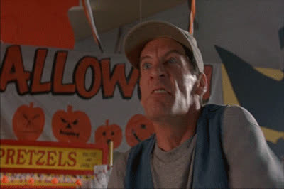 angry, ernest, halloween, jim varney, mad, ready to fight, scared stupid, Ernest Scared Stupid GIFs