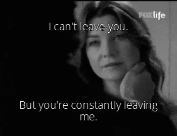 Watch When your always there for someone but they aren't there for GIF on Gfycat. Discover more abandoned, alone, black and white, bw, depressive, derek shepherd, doctor grey, ellen pompeo, gif, greys anatomy, greys antony, leave, leaving, life, lonely, love, meredith grey, patrick dempsey, quote, quotes, saad, true GIFs on Gfycat