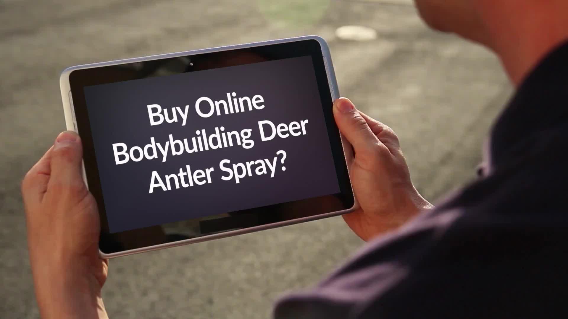 Nutronics Labs - Bodybuilding Deer Antler Spray GIFs