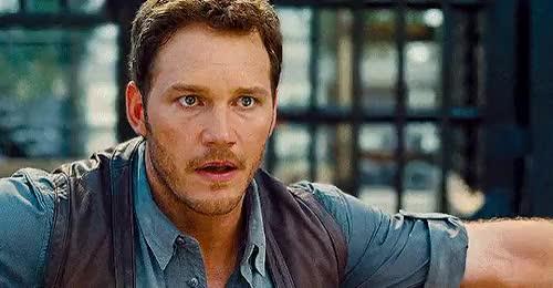 Watch Welcome to Jurassic World GIF on Gfycat. Discover more Chris Pratt, Jurassic World, Owen Grady, Velociraptor, jwedit GIFs on Gfycat