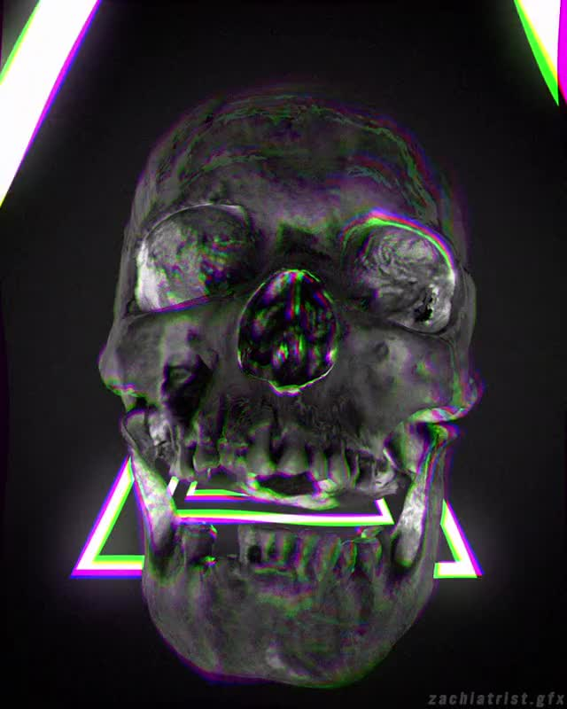 Watch Dance with the dead GIF by Zach Iddings (@zachiatrist.gfx) on Gfycat. Discover more 3danimation, 3dart, animation, black, c4d, cinema4d, death, mograph, motiongraphics, neon, skeleton, skull GIFs on Gfycat