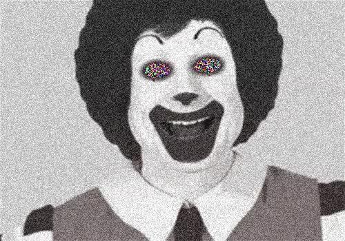 Creepy Ronald McDonald... : gifs GIFs