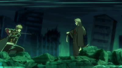 Anime, Gintama, Gintama. 4 GIFs