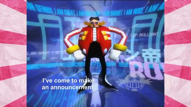 Watch and share Eggman's Announcement GIFs by alanackbar on Gfycat