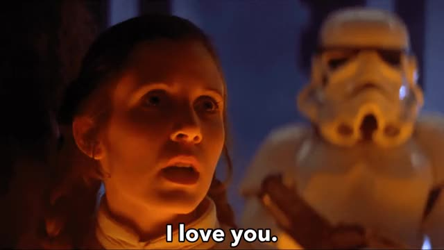 Watch and share Empire Strikes Back GIFs and Rip Carrie Fisher GIFs by Reactions on Gfycat
