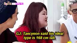 LET'S FIGHT OFTEN:It was about Taecyeon's Ideal Type seconds GIF