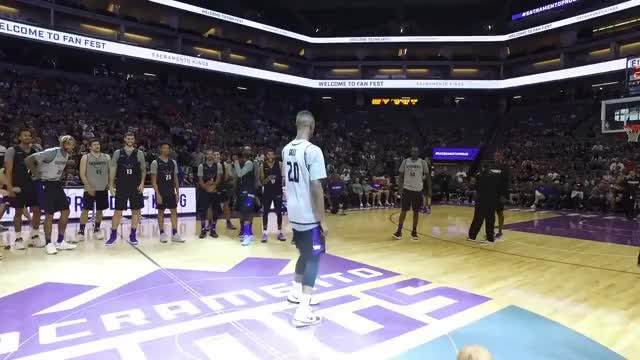 Watch Kings Rookie Dance Contest GIF on Gfycat. Discover more Kings, basketball, com, nba, rookies GIFs on Gfycat