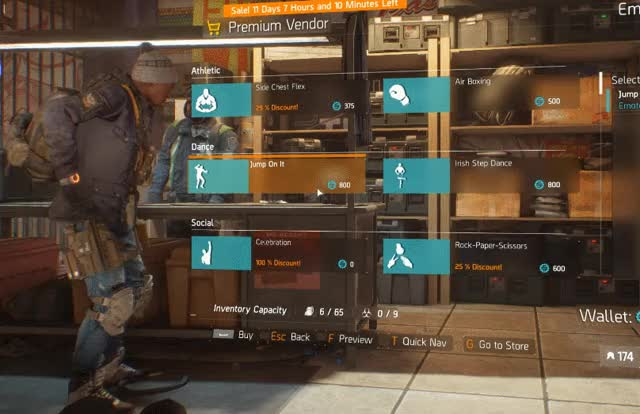 The Division's Premium Vendor is the worst example of