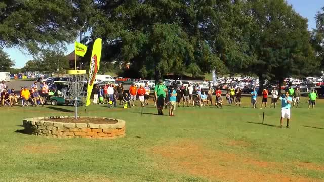 Watch 2014 USDGC - Final Round - Hole 10 - McBeth eagle putt GIF by @rprodart on Gfycat. Discover more disc golf (sport), final round, united states disc golf championship GIFs on Gfycat