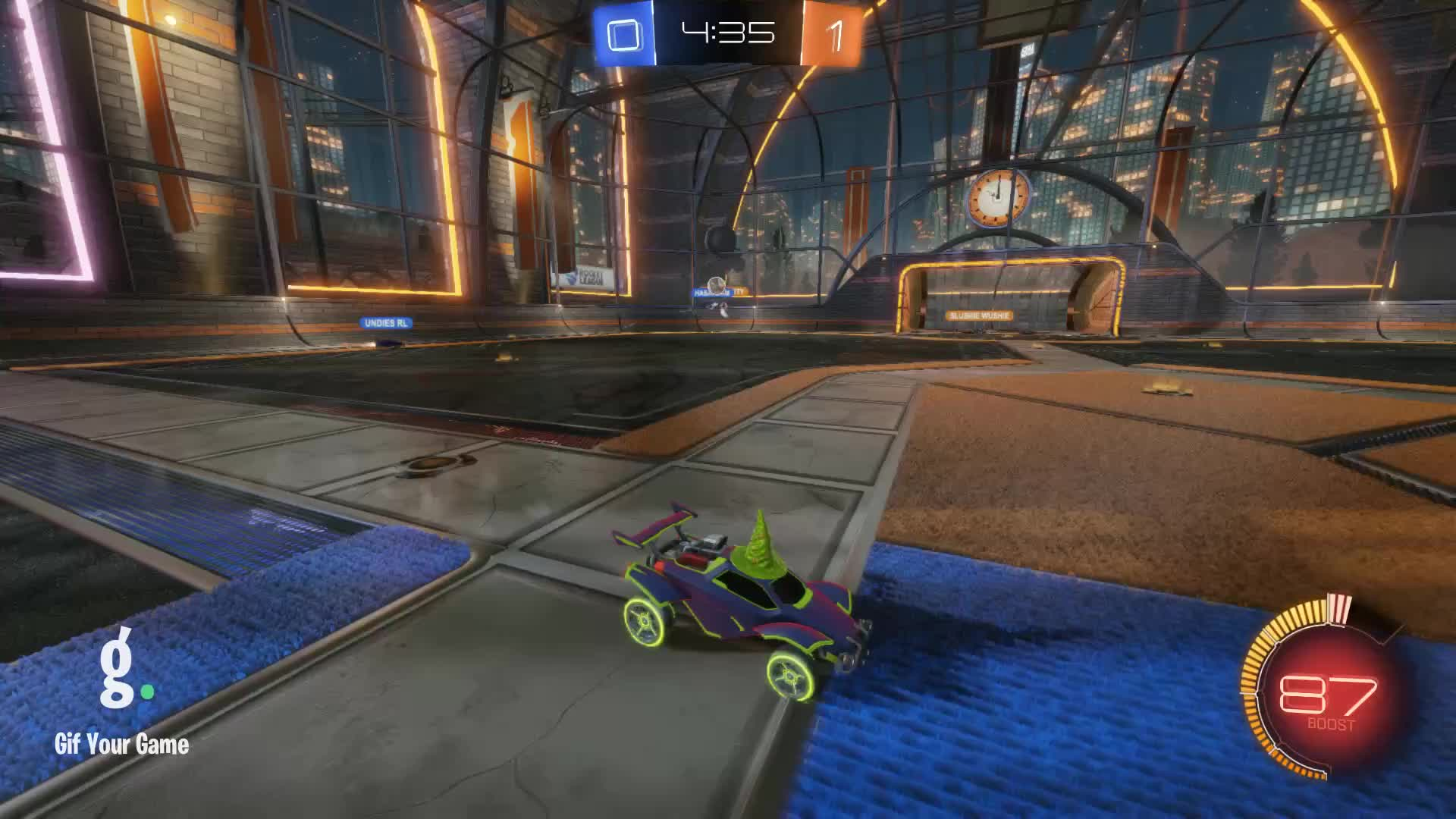 Alexander the Magnificent, Gif Your Game, GifYourGame, Rocket League, RocketLeague, Shot, ⏱️ Shot 3: undies RL GIFs