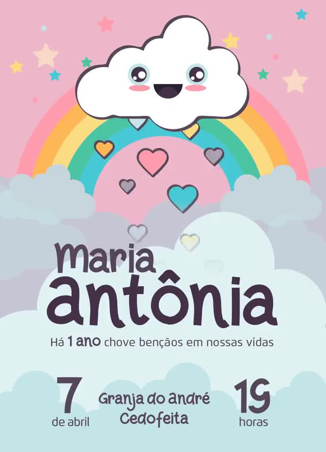 Watch and share Convite-aniversario-maria-antonia GIFs on Gfycat