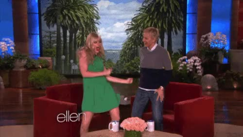 Watch and share Beth Behrs GIFs and Dancing GIFs on Gfycat