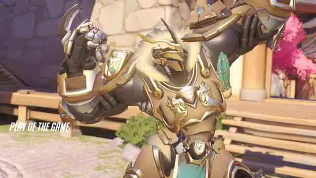 Watch and share Overwatch GIFs and Reinhardt GIFs by Kaya on Gfycat