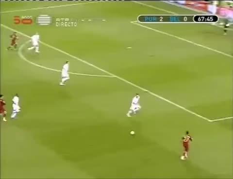 Watch and share Portugal - Belgium 4-0 Quaresma Trivela Goal (FC Porto, Besiktas JK) GIFs on Gfycat