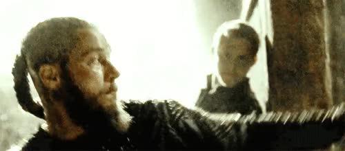 alexander ludwig vikings spoilers gif