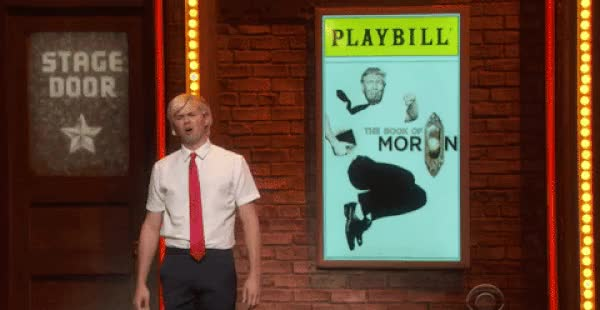 Watch Andrew Rannells' Trump impression GIF on Gfycat. Discover more related GIFs on Gfycat
