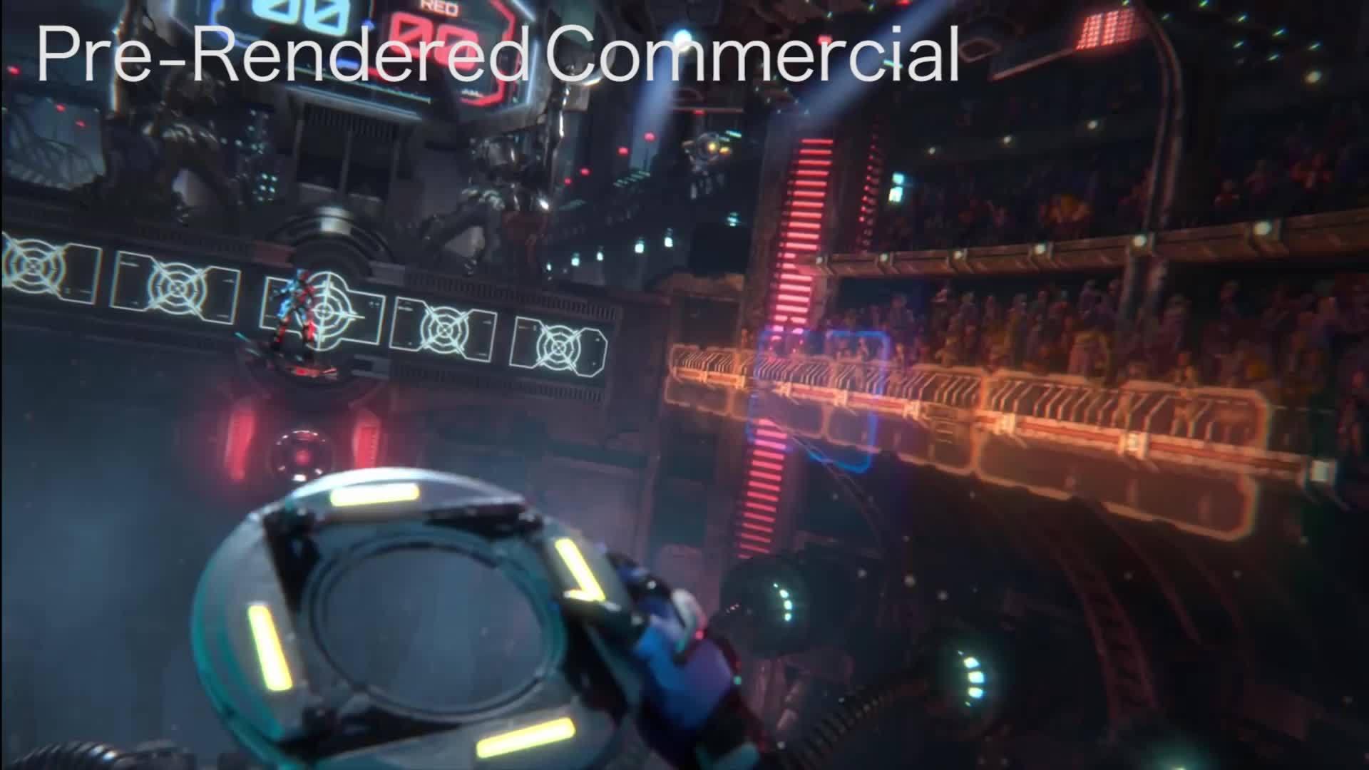 oculus, vive, vr, Oculus Commercial vs Gameplay GIFs