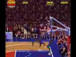 Watch NBA JAM GLASS BREAK GIF on Gfycat. Discover more nba jam, snes GIFs on Gfycat