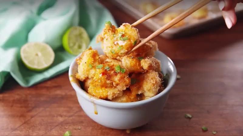 cooking, food, food recipes, recipe, recipes, shrimp, Bang Bang Shrimp GIFs